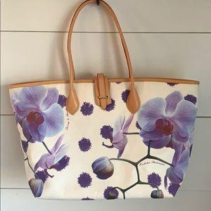 Dooney & Bourke Purple Orchid Tote